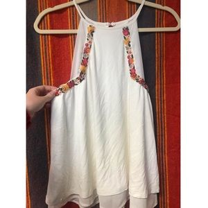 Francesca's Embroidered Tank